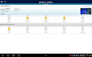 Screenshot of NBC Bay Area