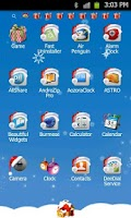 Screenshot of Xmas Go LauncherEx Theme