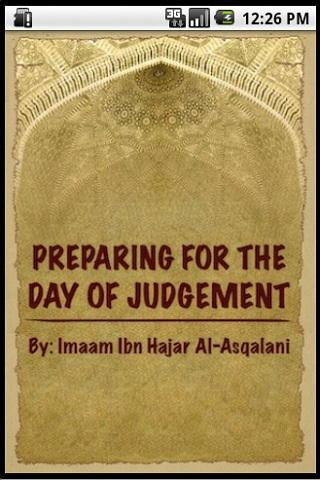 Prepare for the DayOfJudgement