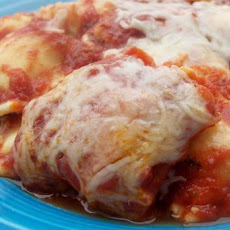 30-Minute Cheesy Baked Ravioli