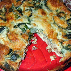 Blender Quiche - or Whatever You Have in Your Kitchen Leftover