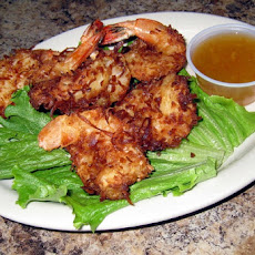 Coconut-Crusted Fried Shrimp