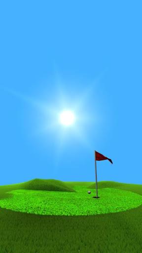 リアルな3Dゴルフライブ壁紙