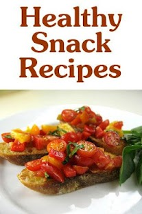 Healthy Snack Recipes - screenshot