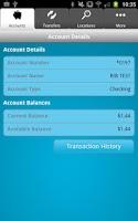 Screenshot of Silvergate Mobile