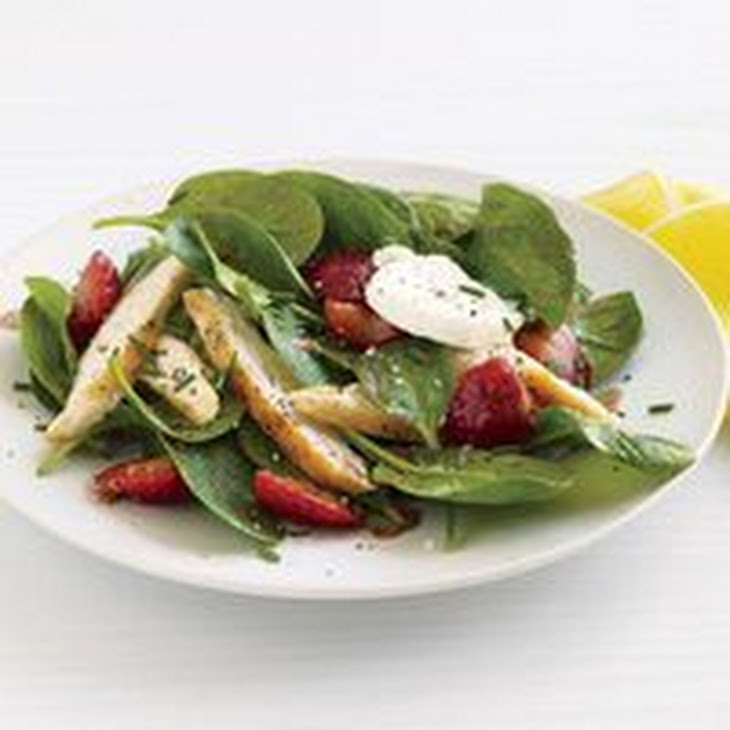 Chicken And Strawberry-Spinach Salad Recipes — Dishmaps