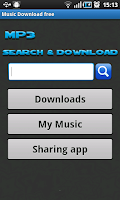 Screenshot of Music Download free