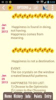 Screenshot of Happy Habits: Choose Happiness