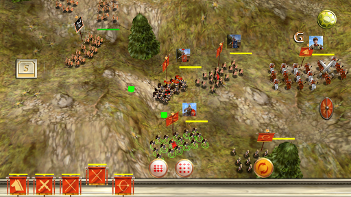 Roman War(3D RTS) - screenshot