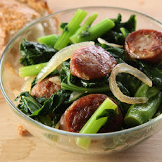 Sautéed Bratwurst with Broccoli Rabe Recipe