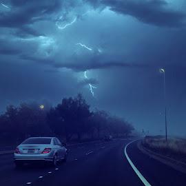 Lightning in the sky by Sekhar Reddy - Instagram & Mobile Instagram ( lightning, ca, sky, california, beautiful sky )