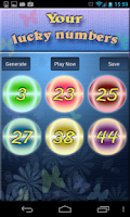 Screenshot of Your Lucky Lotto Numbers