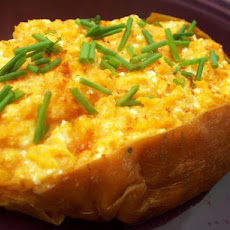 Cheese-Stuffed Sweet Potatoes