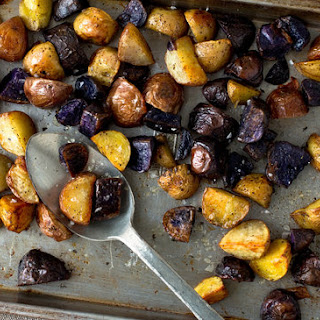 Rainbow Potato Roast