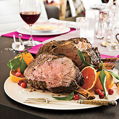 Fennel-Crusted Rib Roast