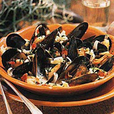 Mussels with Pernod and Cream