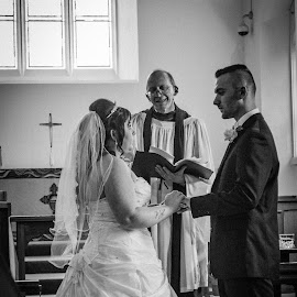 the ring by Anikovras Lucirduk - Wedding Ceremony ( 2014, wedding, bournemouth )