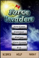Screenshot of Force  Invaders Demo