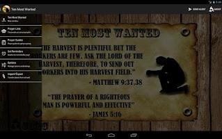 Screenshot of Ten Most Wanted