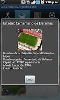 Screenshot of Copa América 2011