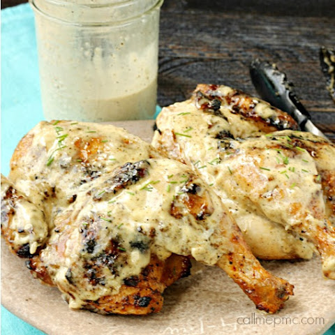 Grilled Chicken Quarters | Tailgating Giveaway