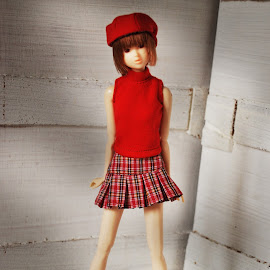 Red by Marc Mendoza - Artistic Objects Toys ( fashion, red, doll, toy )