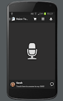 Screenshot of Voice To SMS