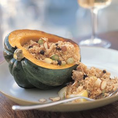 Winter Squash with Spiced Couscous