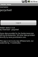 Screenshot of Hacker News Full