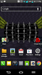 Spike Roller Live Wallpaper - screenshot