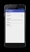 Screenshot of Voice Dialer (Voice Dialing)