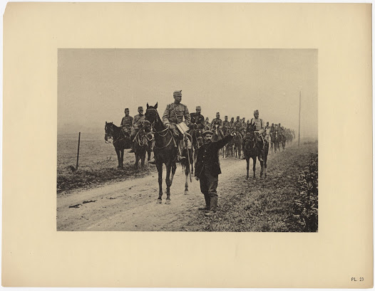 French cavalry near the Somme River