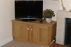 Fireside Cupboards and Shelves in Oak