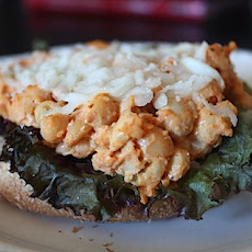 Spicy Smashed Chickpea Melt