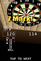 Screenshot of 3D Darts