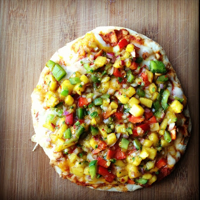 Mango Chaat Pizza
