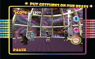 Screenshot of Gesture Dance