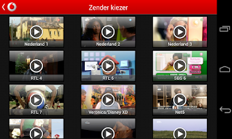 Screenshot of Vodafone Thuis TV