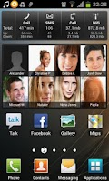 Screenshot of Favorite Contacts Widget Free