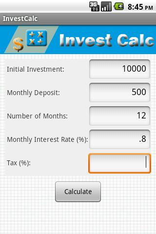 InvestCalc
