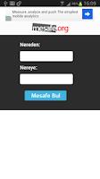 Screenshot of İller Arası Mesafe