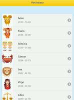Screenshot of Horoscopo Diario
