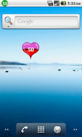 Screenshot of Heart Battery Widget