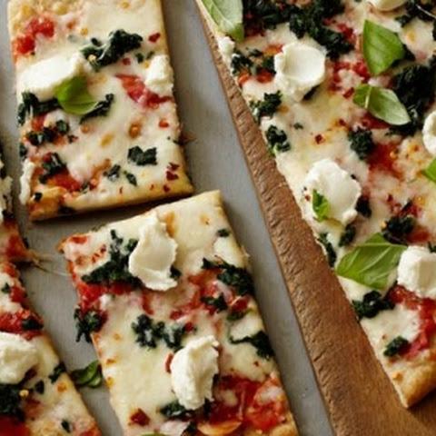 Ricotta Stuffed Spinach And Broccoli Pizza Pie Recipes — Dishmaps