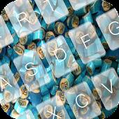 Blue Candy Keyboard Theme APK for Lenovo