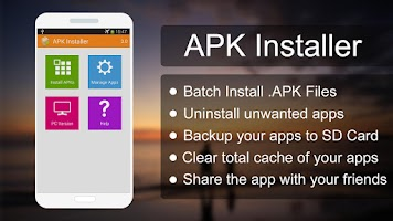 Screenshot of APK Installer