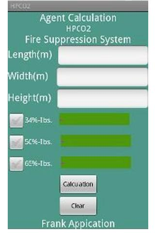 CO2 Agent Calculation