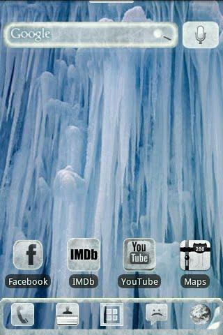 ADW IceD Glass Theme Pro