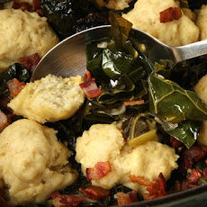 Collard Greens with Dumplings Recipe