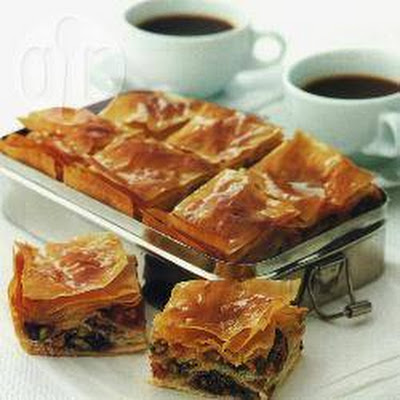 Baklava Met Fruit En Noten
